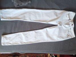 Burberry Pantalon cigarette blanc