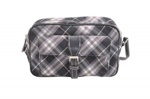 Burberry Shoulder Bag black textile fiber