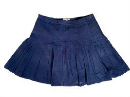 Burberry London Miniskirt dark blue cotton