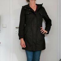Burberry Manteau à capuche multicolore