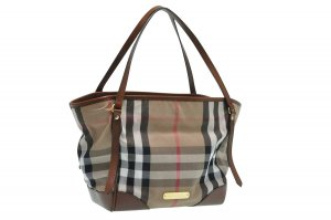 Burberry Tote brown textile fiber