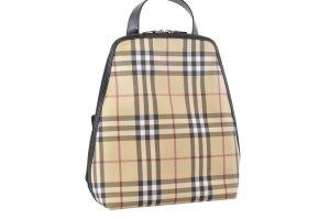 Burberry Backpack cream textile fiber