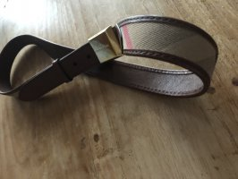 Burberry Leather Belt brown leather