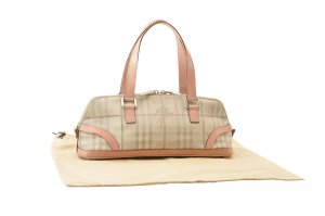 Burberry Nova Check Hand Bag