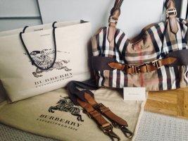 Burberry Sac fourre-tout multicolore cuir