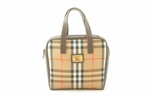 Burberry Nova Check Nylon Hand bag