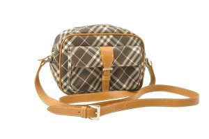 Burberry Shoulder Bag brown textile fiber