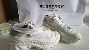 Burberry nylon and suede arthur sneakers Gr.37