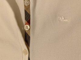 Burberry London Robe Polo blanc