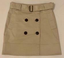 Burberry London High Waist Skirt beige