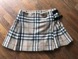 Burberry London Wraparound Skirt multicolored mohair