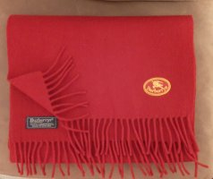 Burberry Woolen Scarf dark red