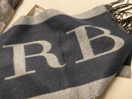 Burberry Bufanda de lana azul-azul oscuro
