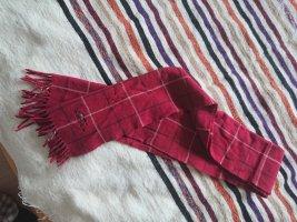 Burberry Écharpe en laine rouge foncé-rouge carmin