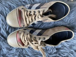 Burberry Sneakers Check Print