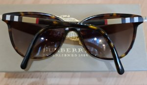 Burberry London Lunettes de soleil ovales multicolore