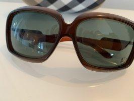 Burberry Occhiale da sole spigoloso marrone scuro-marrone