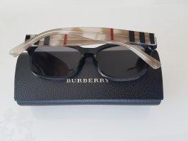 Burberry Lunettes de soleil ovales multicolore