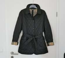 Burberry Gewatteerde jas zwart