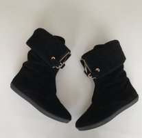 Burberry Winter Boots black-gold-colored