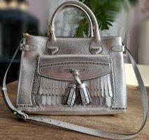 Burberry Handbag silver-colored