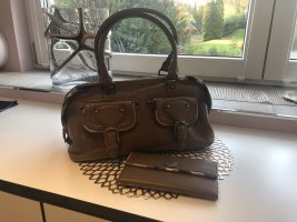 Burberry Bowling Bag camel-gold-colored