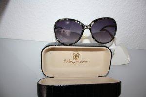 Burgmeister Oval Sunglasses black-grey