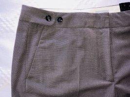 H&M pantalón de cintura baja gris antracita-taupe