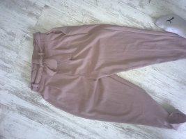 Pantalón de cintura alta color rosa dorado
