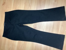 Marc O'Polo Low-Rise Trousers black cotton