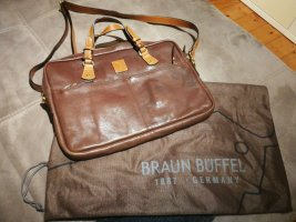 Braun Büffel Laptop bag brown