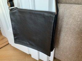 Bree Laptoptas zwart-zandig bruin