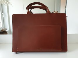 Royal republiq Laptop bag cognac-coloured leather