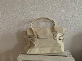 Business-Tasche von Zara in Creme