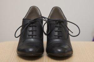 Businessschuhe/Stiefelette in Größe 38, schwarz