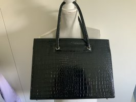 Aktówka czarny-srebrny