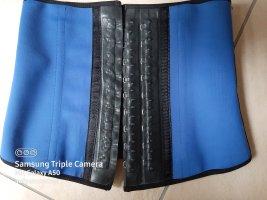 Bella Donna Top tipo bustier negro-azul