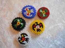 Buttons Blusenüberknöpfe Indianer Boho Gypsy style 80ger