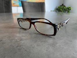 Bulgari Glasses dark brown-cognac-coloured