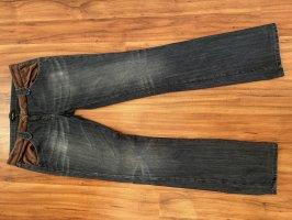 Byblos Jeansy o obcisłym kroju niebieski-purpurowy