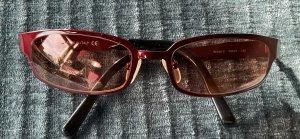 Byblos Vintage Sonnenbrille Metall bordeauxrot