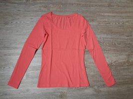 C&A Basic langarm shirt apricot XS Koralle
