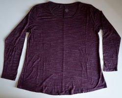 C&A Basics Koszulka z długim rękawem bordo Bawełna