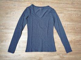 C&A Basic shirt langarm blau XS neu