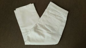 C&A Pantalone Capri bianco Cotone