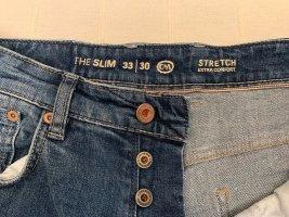 C&A Clockhouse Jeans coupe-droite bleu acier