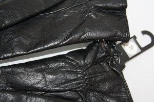 C&A Guantes de cuero negro Cuero