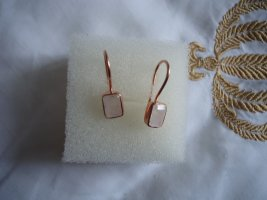 Statement Earrings apricot-gold-colored