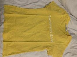 Calvin Klein Jeans T-shirt żółty