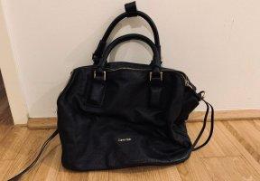 Calvin Klein Bolso negro Imitación de cuero